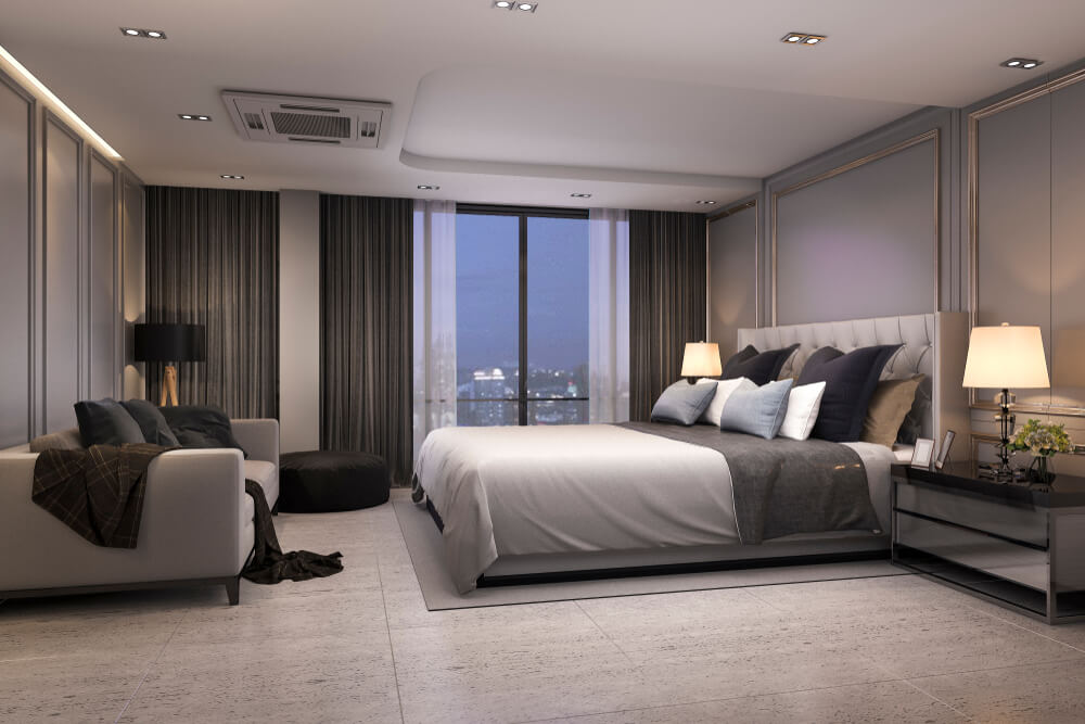 luxury bedroom