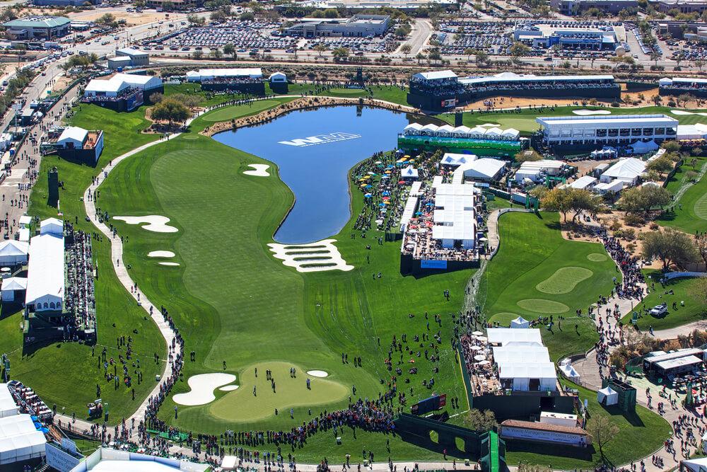 view of the Phoenix open
